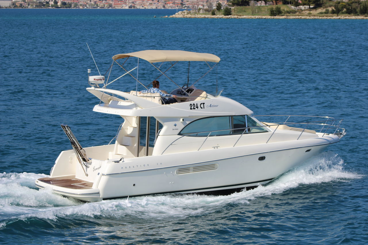 Prestige yacht in Goa