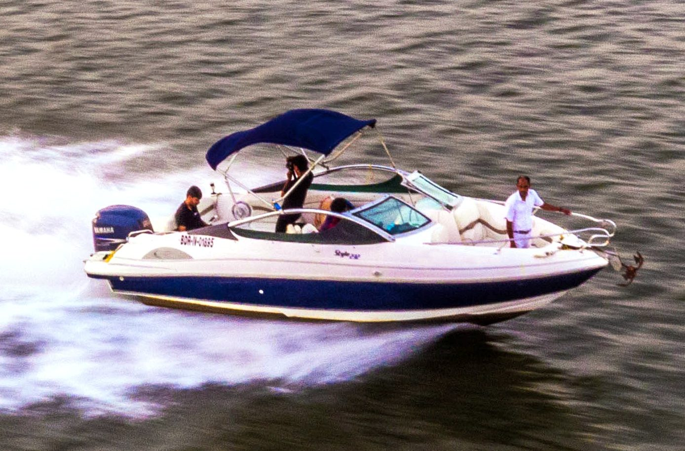 Speedboat in Goa